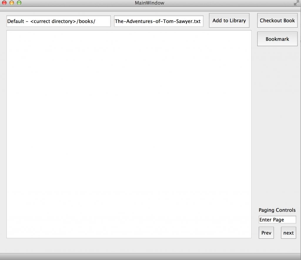 BasicBookReader