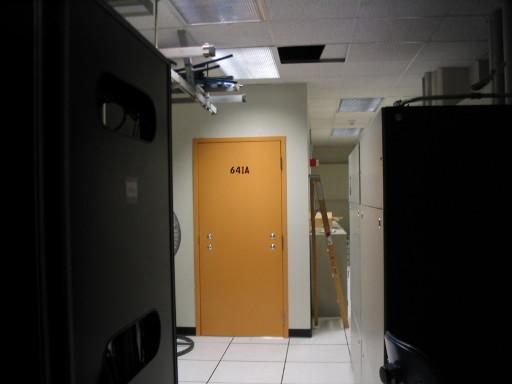 Handles Door to Room 641A